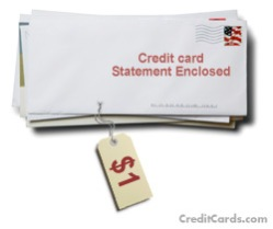 creditcard statement enclosed
