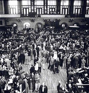 nyse floor 1960s