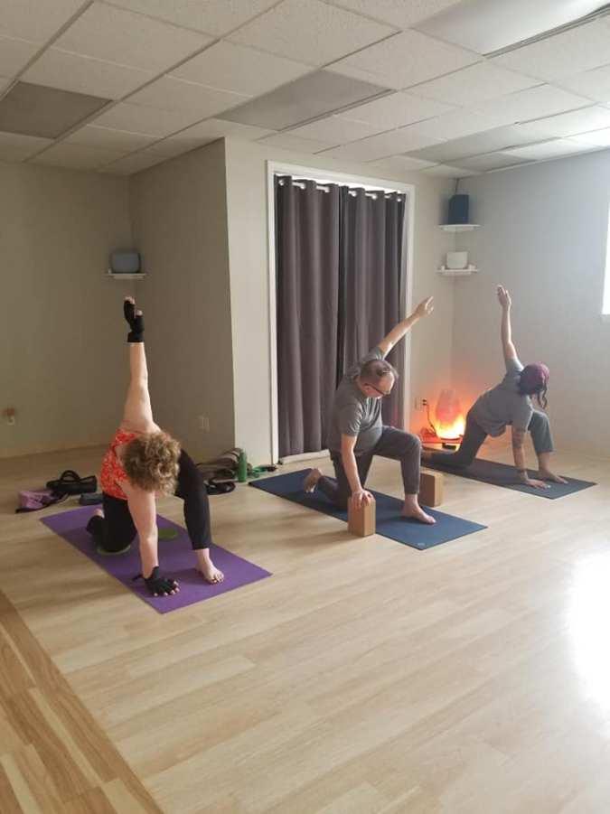 yoga class 2